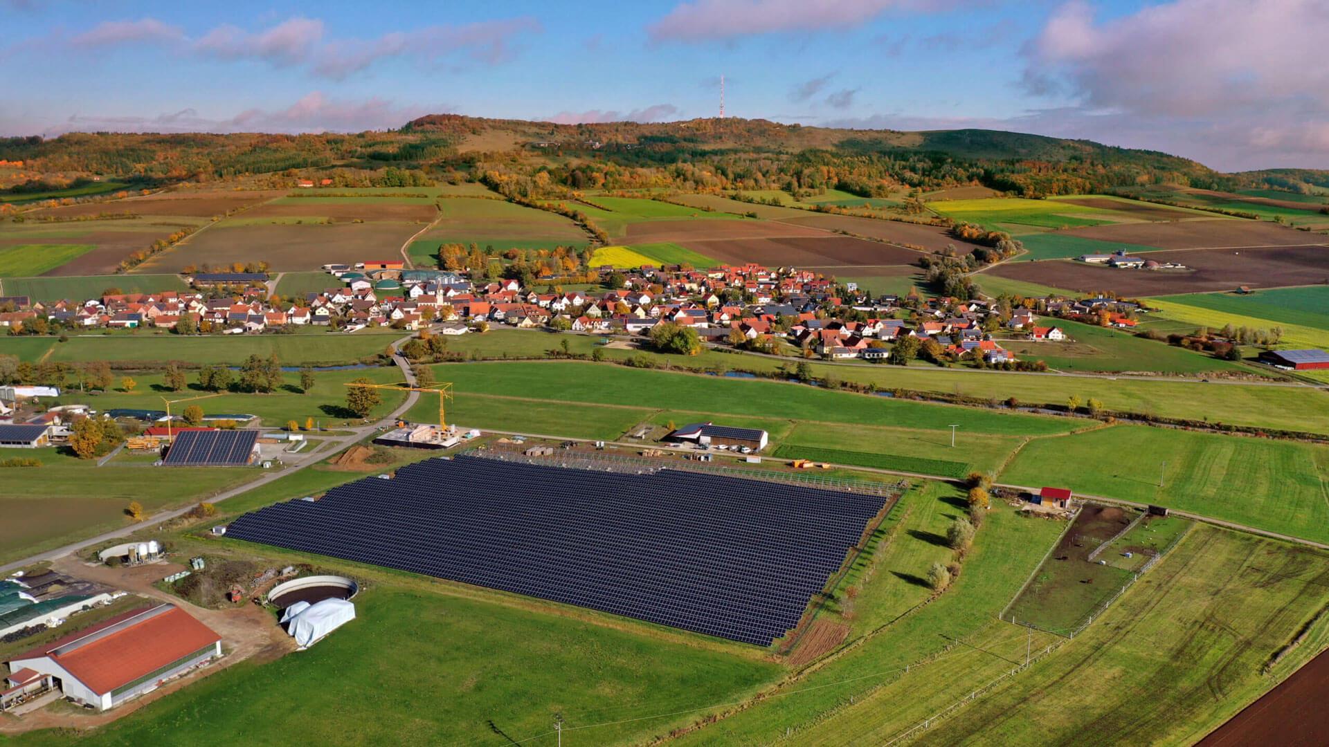 Groß, Größer, Solarpark Gerolfingen