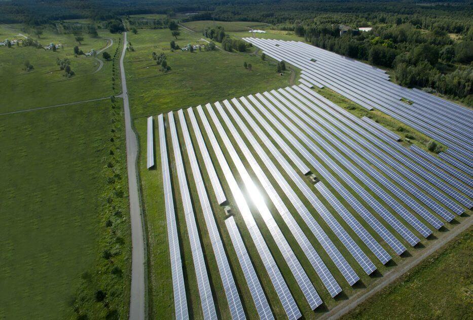 Photovoltaikanlage Freichfläche
